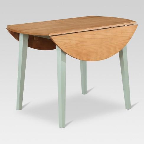 round drop leaf table Carey 44