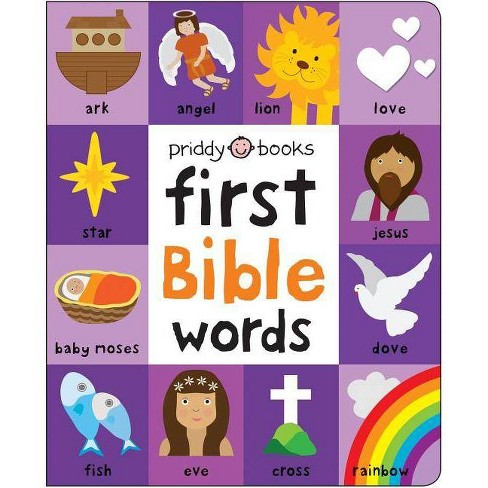 First 100 Bible Words Padded - by  Roger Priddy (Board_book) - image 1 of 1