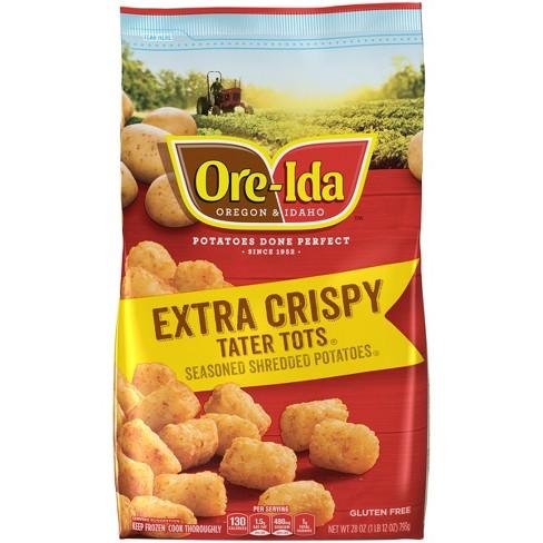 Ore-Ida Extra Crispy Frozen Tater Tots - 28oz - image 1 of 3