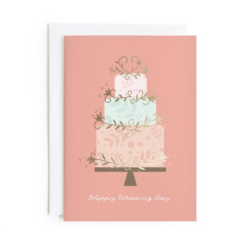 Minted Wedding Day Card - image 1 of 1