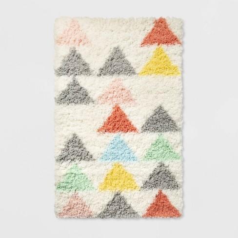 Triangle Shag Area Rug - Pillowfort