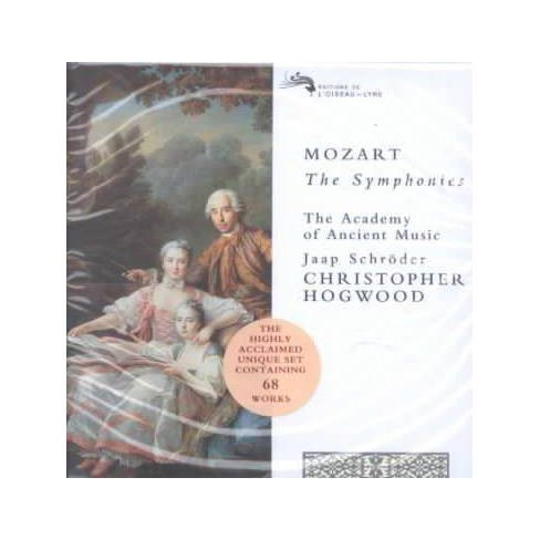 Mozart: The Symphonies / Hogwood, Academy of Ancient Music (CD) - image 1 of 1
