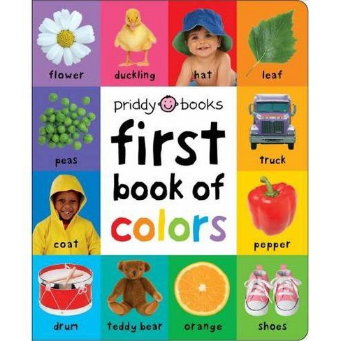 First Book of Colors Padded -  BRDBK (First 100) by Roger Priddy (Hardcover) - image 1 of 1