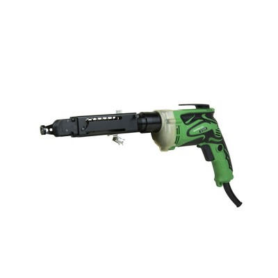 Metabo HPT W6V4SD2M 6.6 Amp Brushed SuperDrive Corded Collated Drywall Screw Gun