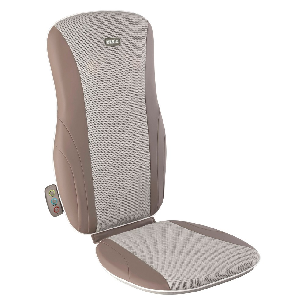 Image of HoMedics Deep Kneading Back Massager With Heat, Brown