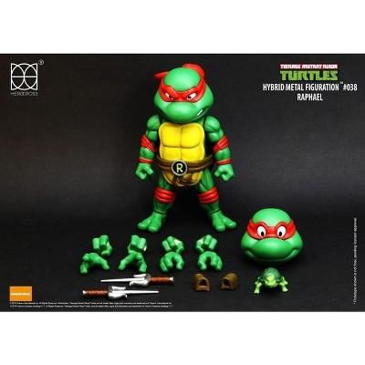 Herocross Company Limited Teenage Mutant Ninja Turtles Hybrid Metal Figuration Action Figure | Raphael
