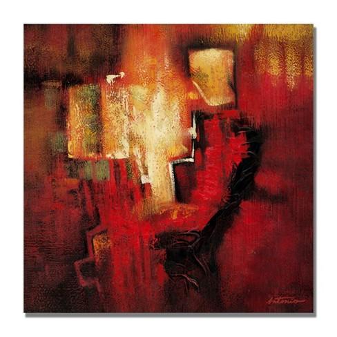 "Trademark Fine Art 24"" x 24"" Antonio Abstract II' Canvas Art - image 1 of 2"
