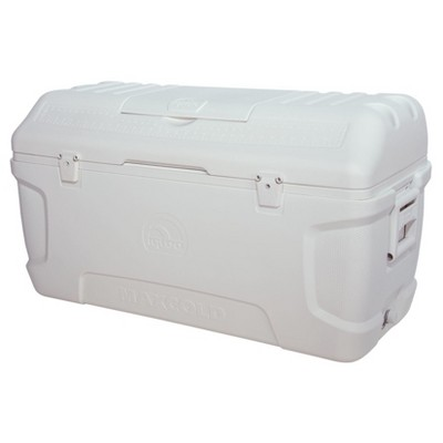 Igloo Contour MaxCold 165 Qt Cooler - White