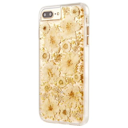 official photos f49f1 63fec iPhone 8 Plus/7 Plus/6s Plus/6 Plus Case Karat Petals White - Case-Mate