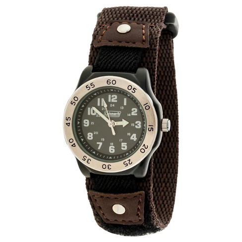 Boys' Coleman Analog Sportwrap Watch - Brown - image 1 of 1