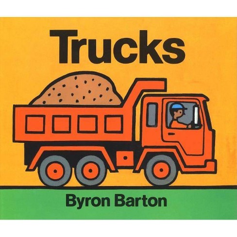 Trucks - by  Byron Barton (Hardcover) - image 1 of 1