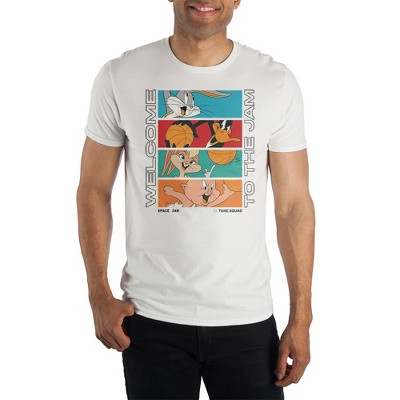 Space Jam 2 A New Legacy Looney Tunes Cartoon  White Graphic Tee