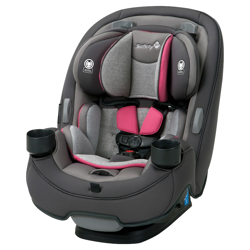 Image of Safety 1st Grow And Go 3-in-1 Convertible Car Seat - Everest Pink