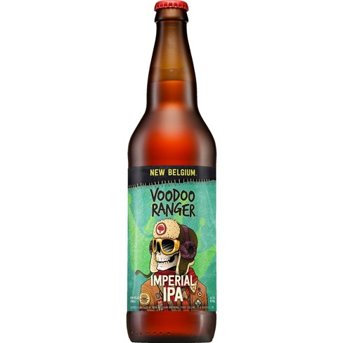 New Belgium® Voodoo Ranger Imperial IPA - 12pk / 22 fl oz Bottles - image 1 of 1