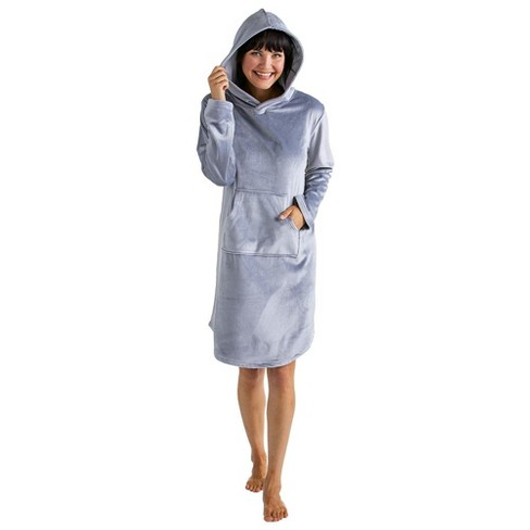 Softies Women's Hooded Snuggle Lounger - image 1 of 4