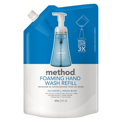 Method Foaming Hand Soap Refill Sea Minerals - 28 fl oz
