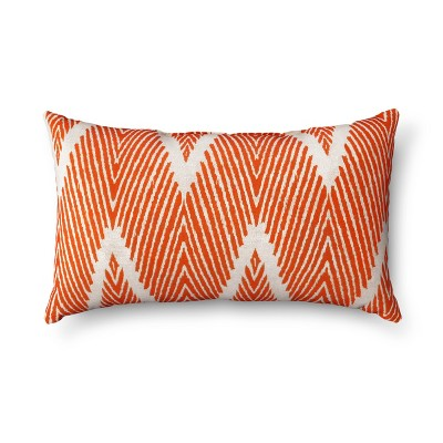 Mandarin Bali Lumbar Throw Pillow 11.5 x18.5  - Pillow Perfect