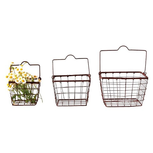 Square Metal Baskets - 3R Studios - image 1 of 1