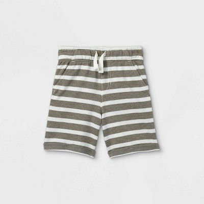 Toddler Boys' Striped French Terry Pull-On Shorts - Cat & Jack™