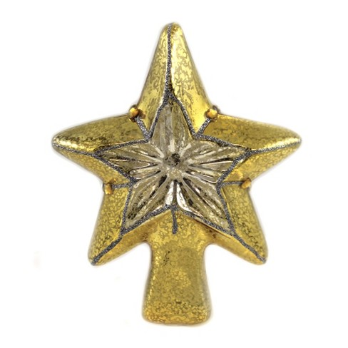 """Tree Topper Finial 8.25"""" Star Treetopper Mercury  -  Tree Toppers - image 1 of 3"""