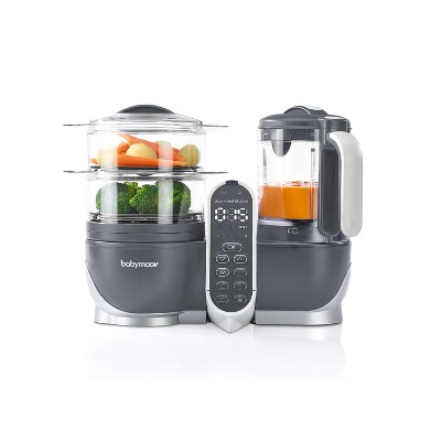 Babymoov Duo Meal Food Maker Processor with Steam Cooker & Multi-Speed Blender