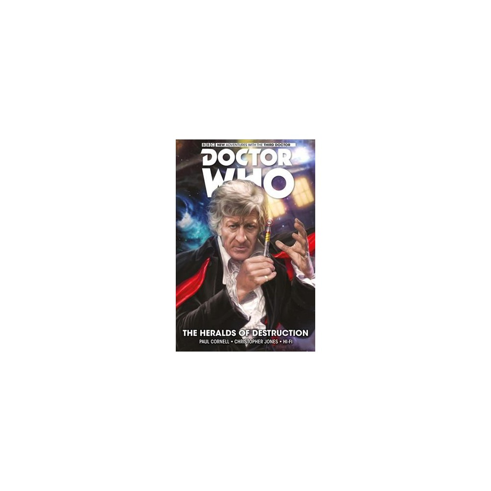 Doctor Who the Third Doctor 1 : The Heralds of Destruction - Reprint by Paul Cornell (Paperback)