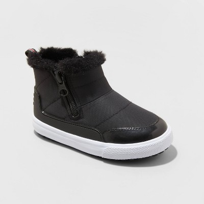 Toddler Double Zipper Slip-On Indiana Boots - Cat & Jack™