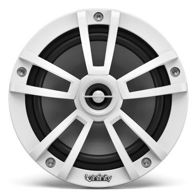 """Infinity 6.5"""" Two-Way Marine Audio 450 Watt Multi-Element Speaker - Pair (White)"""