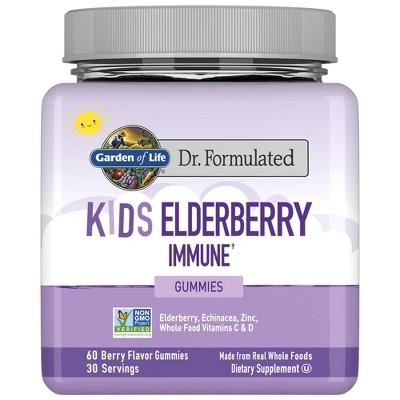 Garden of Life Dr. Formulated Kids Elderberry Gummies - 60ct