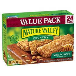 Nature Valley Crunchy Oats 'N Honey Granola Bars - 12ct