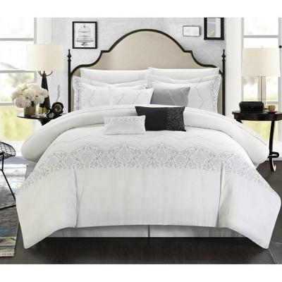 Chic Home Design Gratia Comforter & Sham Set