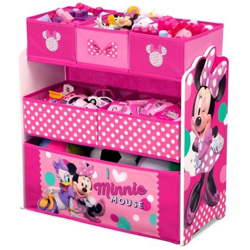 Minnie Mouse Kids Multi-Bin Toy Organizer - Disney - image 1 of 4