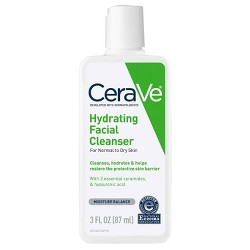 CeraVe Hydrating Facial Cleanser for Normal to Dry Skin - 3oz