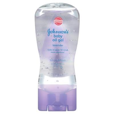 Johnson & Johnson Lavender Baby Oil 6.5 fl oz