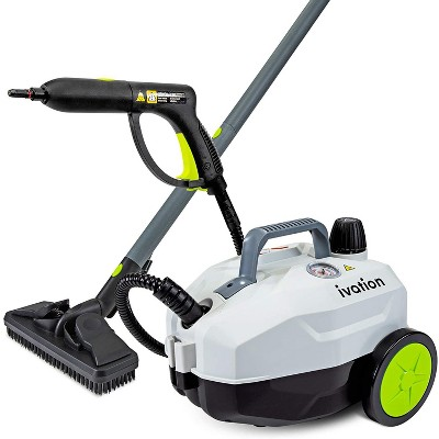 Ivation Multi-Purpose 1800W Canister Steam Cleaner w/ 14-Accessories, Chemical-Free Houshold Cleaning & Sanitizing System