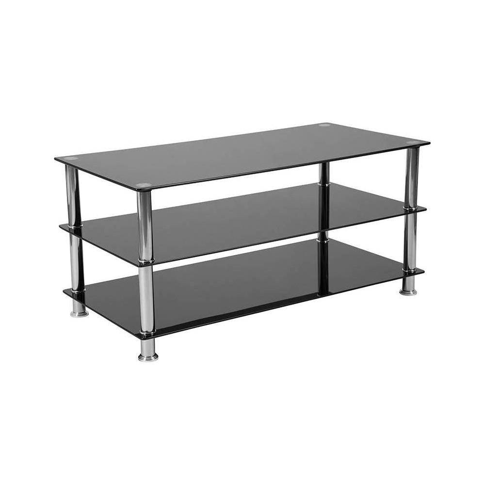Riverside TV Stand Black - Riverstone Furniture