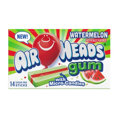 Airheads Watermelon Gum - 14ct - image 1 of 4