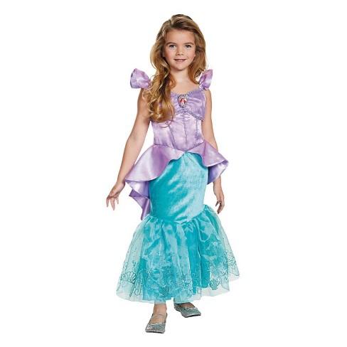 Kids The Little Mermaid Ariel Halloween Costume Target