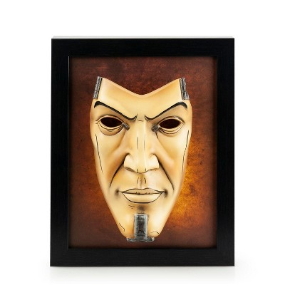 ThinkGeek, Inc. Borderlands 2 Handsome Jack Wall Art | Hand-Painted Mask