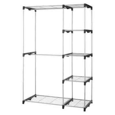 Double Rod Stand Alone Closet System   Threshold™