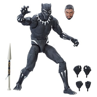 """Marvel Legends Series 12"""" Black Panther Figure"""