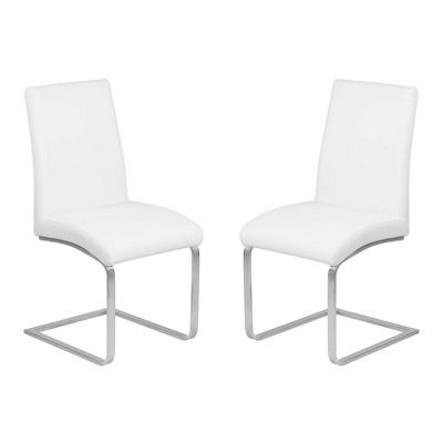 Set of 2 Deneki Contemporary Dining Chair - Armen Living