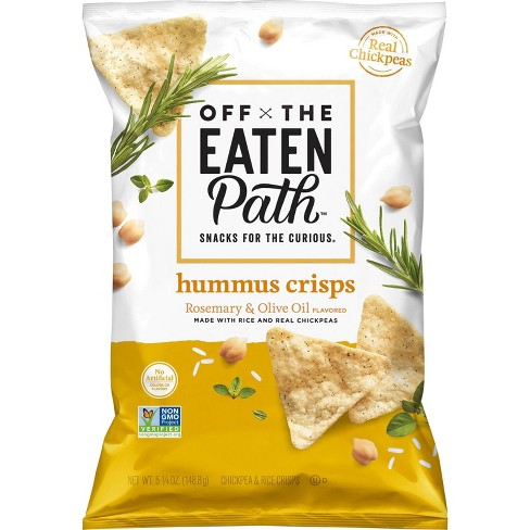 Off The Eaten Path Rosemary and Olive Oil Hummus Crisps - 5.25oz - image 1 of 2
