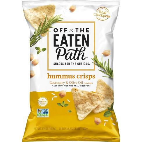 Eaten Path Olive Oil & Herb Hummus Crisps - 6.25oz - image 1 of 3