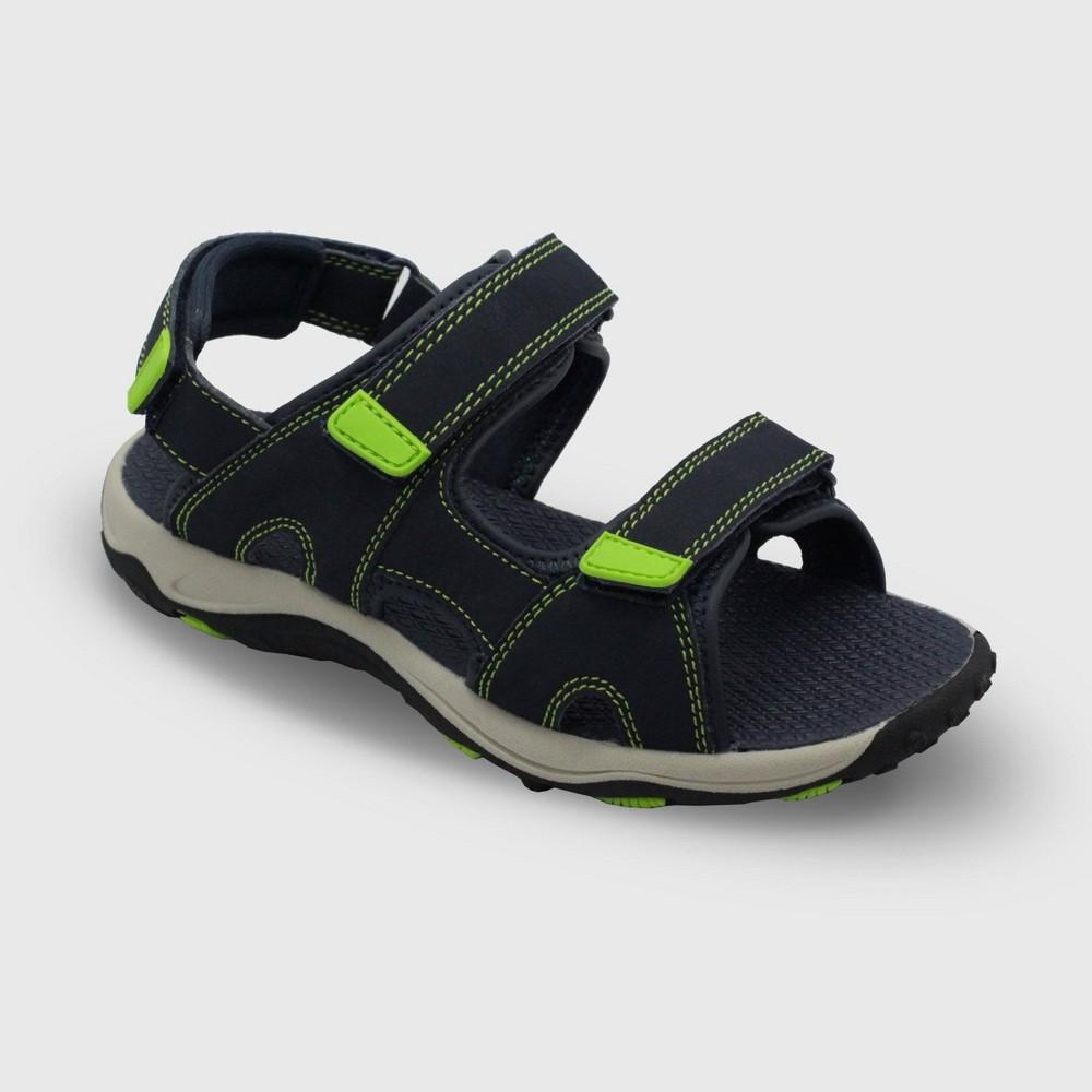 Image of Boys' Konnor Hiking Sandals - Cat & Jack Navy 13, Boy's, Blue