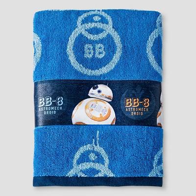 Bath Towels - Blue - Star Wars
