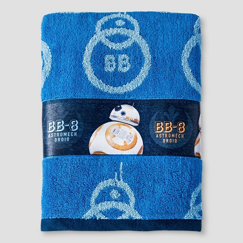 Bath Towels And Washcloths - Blue - Star Wars - image 1 of 1