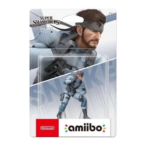 Nintendo Super Smash Bros. amiibo Figure - Snake - image 1 of 2