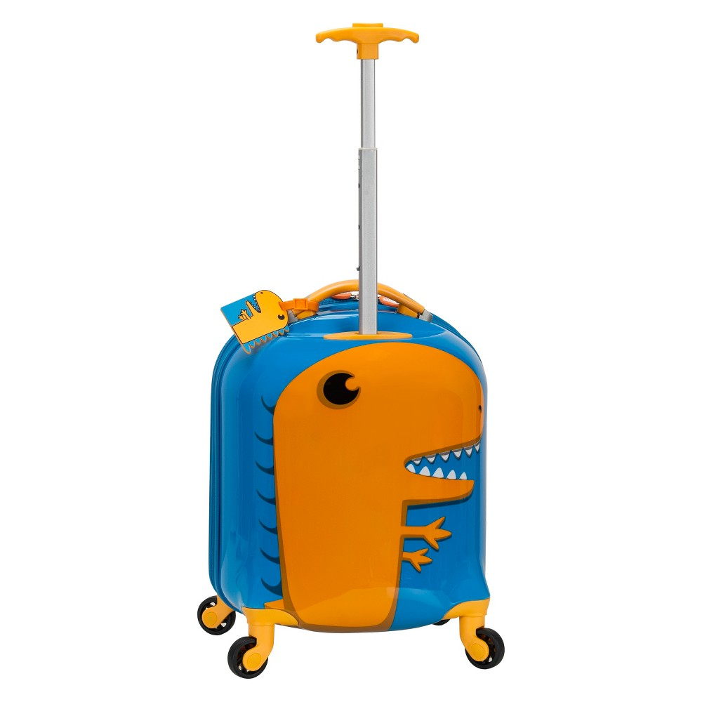 Rockland 17 Kids My First Suitcase - Dinosaur, Blue