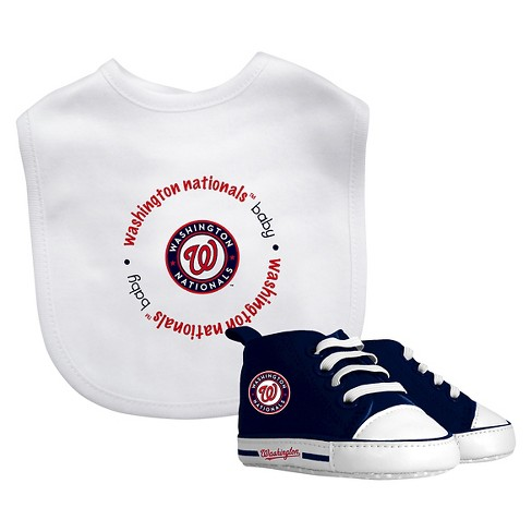 MLB Washington Nationals Bib Set - image 1 of 1